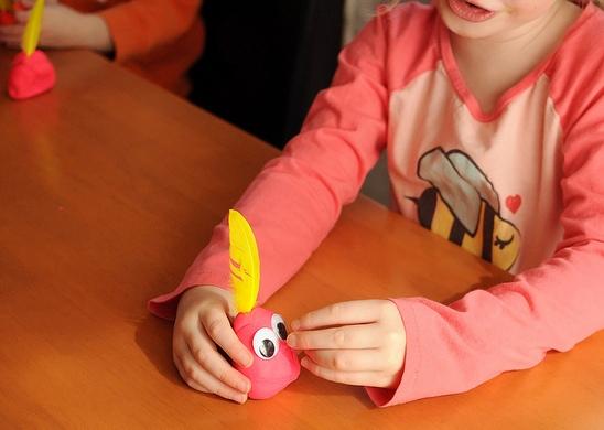 Своими руками! поделки из пластилина для малышей (2) Поделки для детей