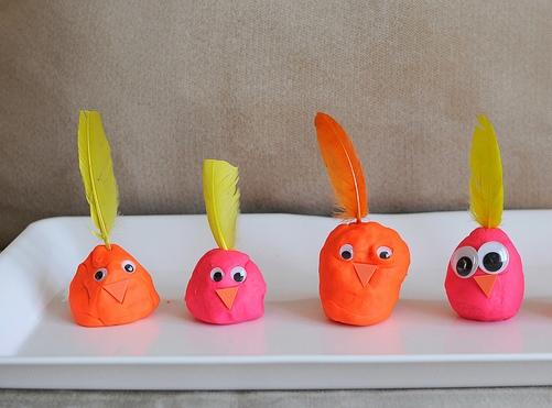 Поделки из пластилина для детей 4 лет