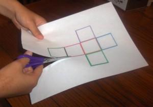 Куб из бумаги (4)