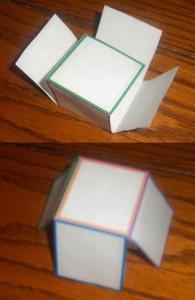 Куб из бумаги (3)