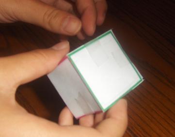 Куб из бумаги (9)