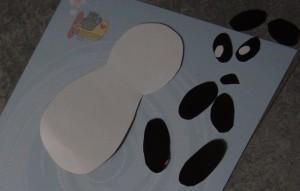 Детеныш панды - аппликации животных (2)