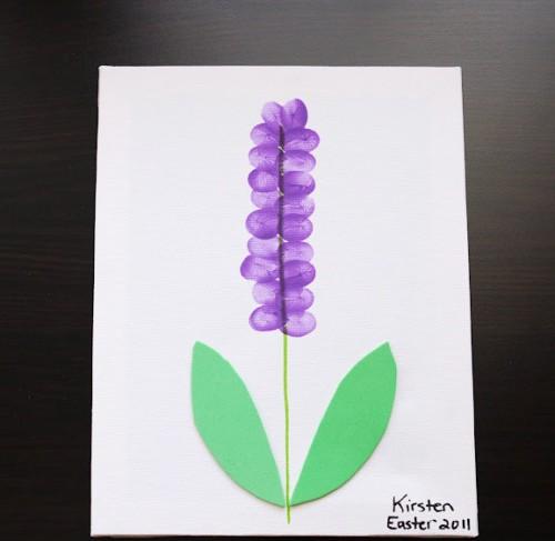 детский рисунок цветок