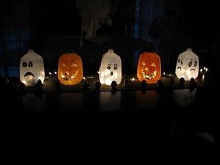 Идеи детских поделок на Хеллоуин (8)