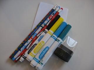 Поделка к школе - карандаш с именем (4)