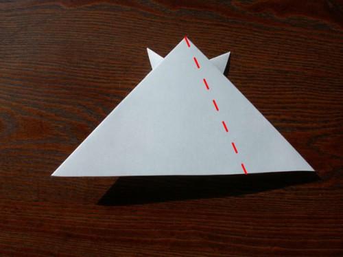 Лягушка оригами (6)