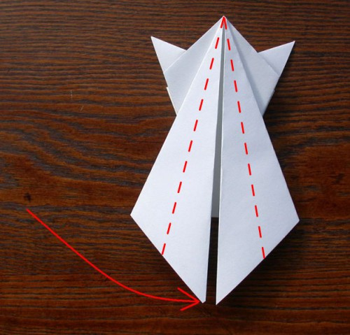 Лягушка оригами (5)