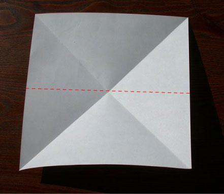 Лягушка оригами (14)