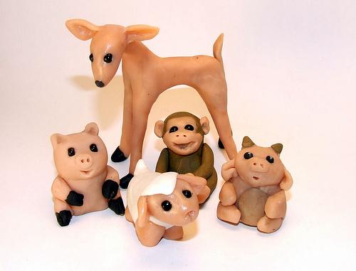 игрушка из пластилина (2)