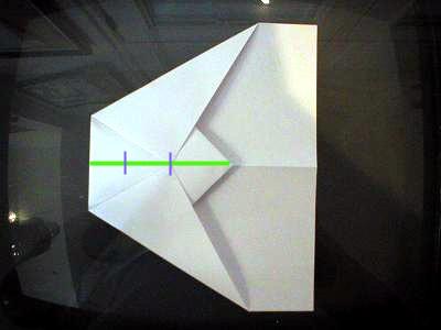 как делать самолетики +из бумаги (4)