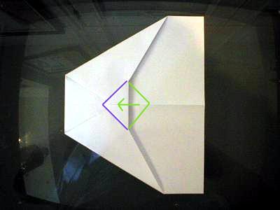 как делать самолетики +из бумаги (3)