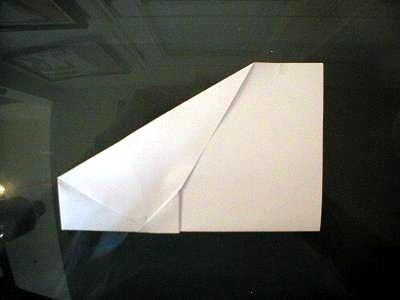 как делать самолетики +из бумаги (2)