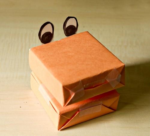 Поделка для игры - игрушки из коробков (1)