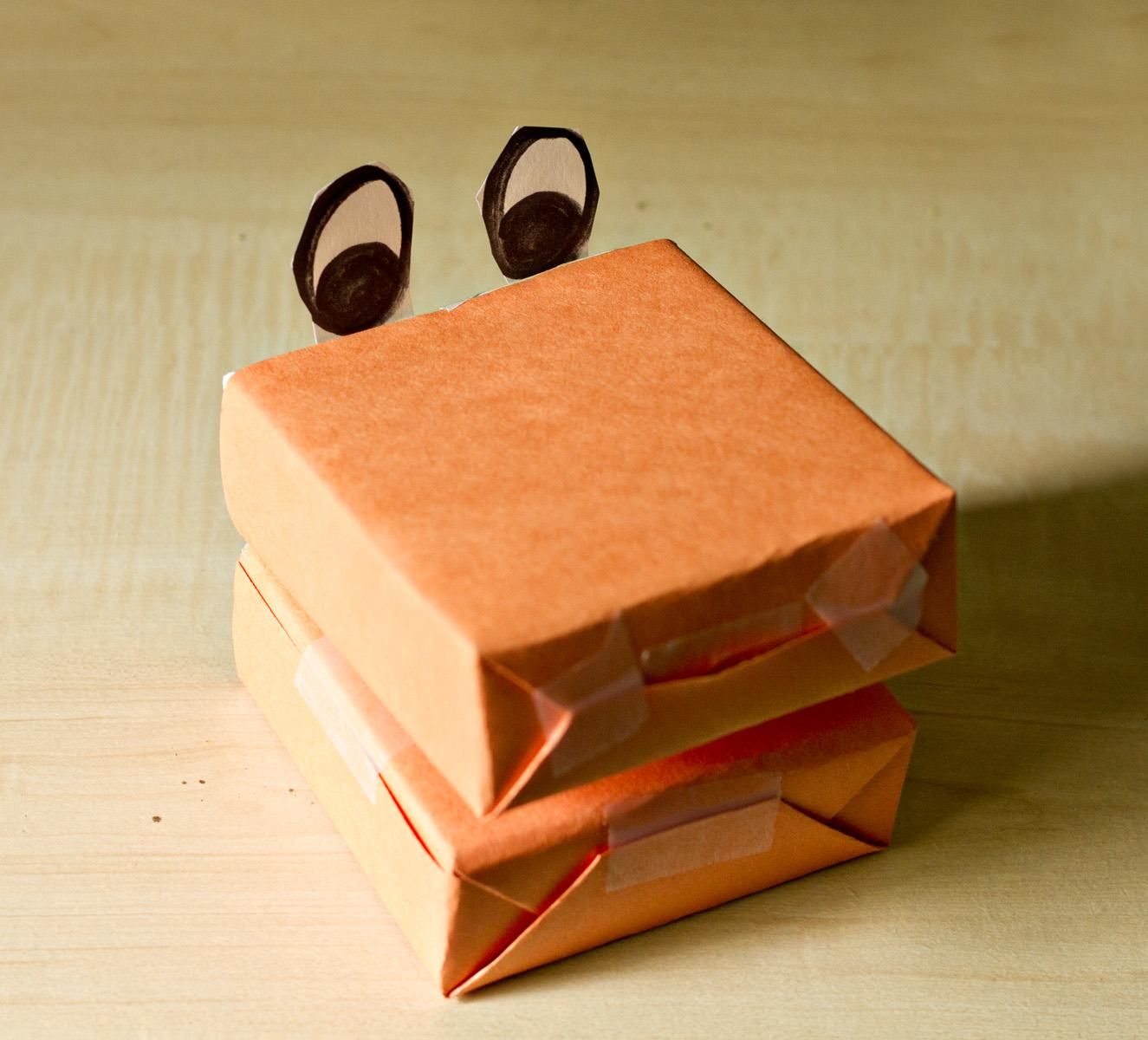 Игрушки из коробок своими руками - FO 46
