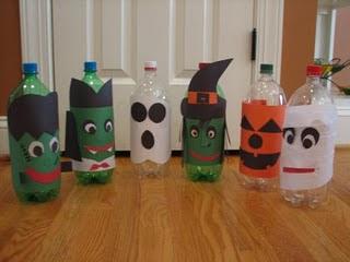 Идеи детских поделок на Хеллоуин (1)