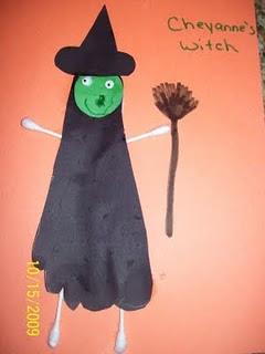 Идеи детских поделок на Хеллоуин (5)