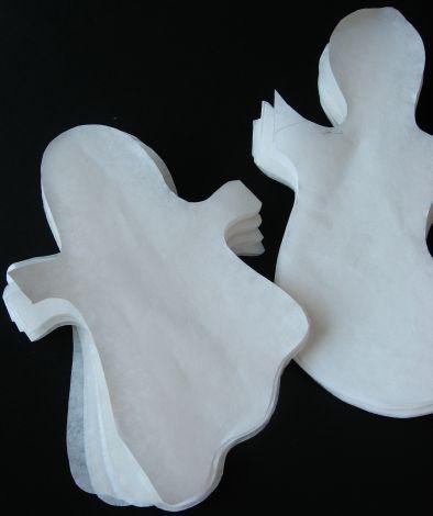Гирлянда из бумаги своими руками - Украшение на Хеллоуин