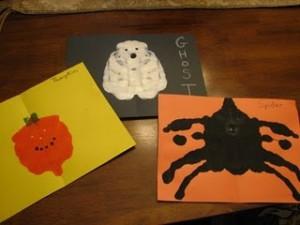 Идеи детских поделок на Хеллоуин (2)