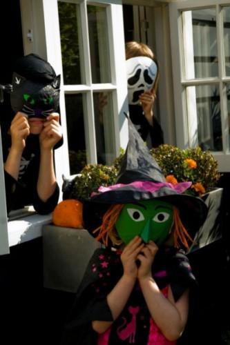 Маски на хэллоуин (5)