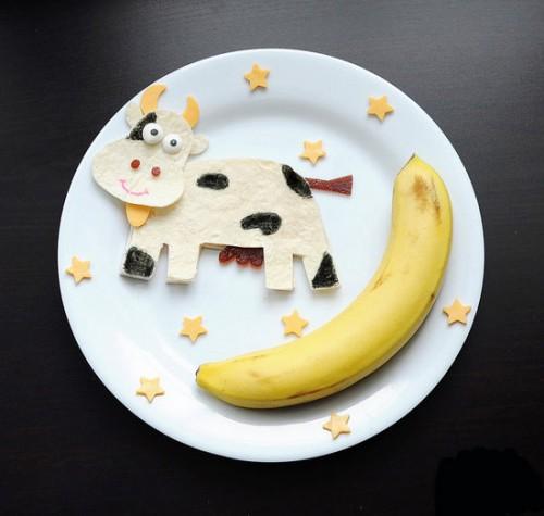 Забавная идея как накормить ребенка - детское оформление блюд (25)
