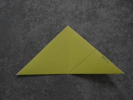 Как сделать цветы оригами - оригами тюльпан схема (13)
