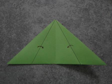 Как сделать цветы оригами - оригами тюльпан схема (11)