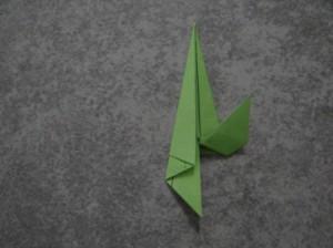 Как сделать цветы оригами - оригами тюльпан схема (9)
