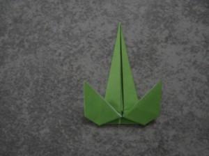 Как сделать цветы оригами - оригами тюльпан схема (8)