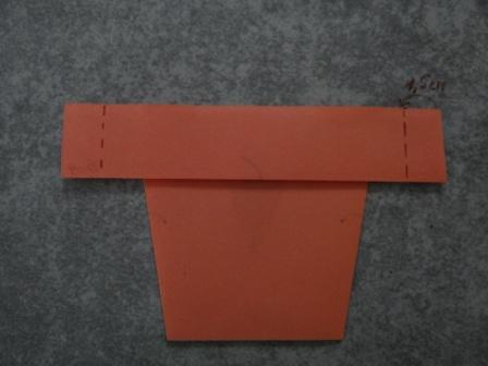 Как сделать цветы оригами - оригами тюльпан схема (3)