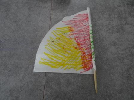 Как сделать катамаран - кораблик из бумаги своими руками (3)