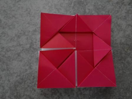 Оригами ромашка - оригами для детей цветок (10)
