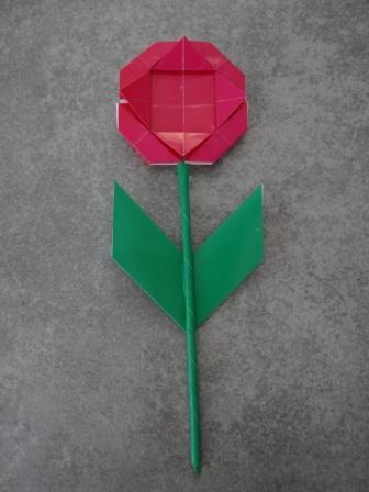 Оригами ромашка - оригами для детей цветок (17)