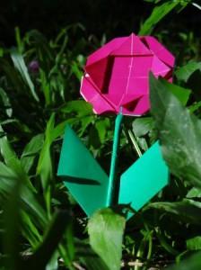 Оригами ромашка - оригами для детей цветок (1)