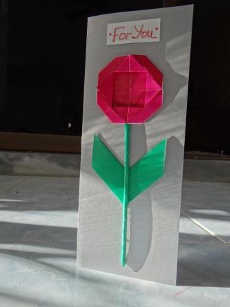 Оригами ромашка - оригами для детей цветок (18)