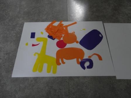 Аппликации и бумаги для детей - Мастер-класс (1)