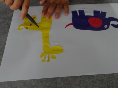 Аппликации и бумаги для детей - Мастер-класс (12)