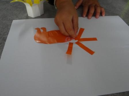 Аппликации и бумаги для детей - Мастер-класс (11)