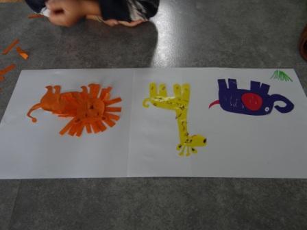 Аппликации и бумаги для детей - Мастер-класс (8)