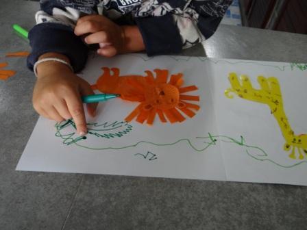 Аппликации и бумаги для детей - Мастер-класс (7)