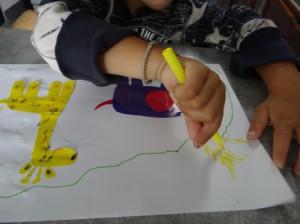 Аппликации и бумаги для детей - Мастер-класс (6)