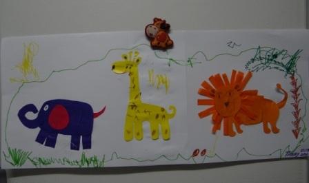 Аппликации и бумаги для детей - Мастер-класс (5)