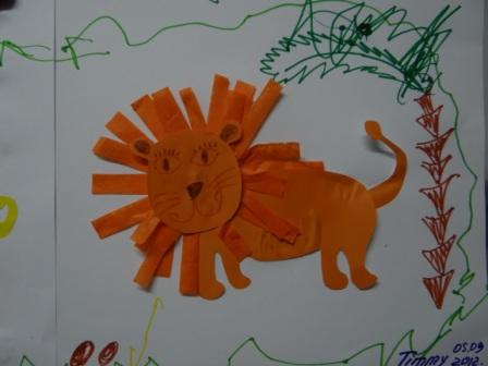 Аппликации и бумаги для детей - Мастер-класс (4)