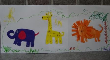 Аппликации и бумаги для детей - Мастер-класс (3)