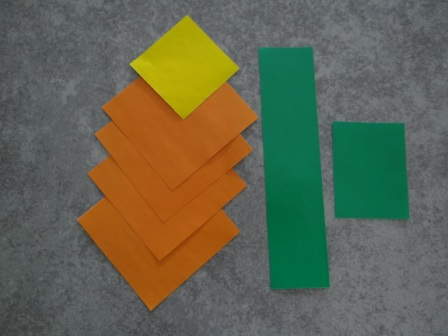 Оригами цветы для начинающих - Подсолнух (11)
