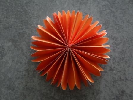 Оригами цветы для начинающих - Подсолнух (3)