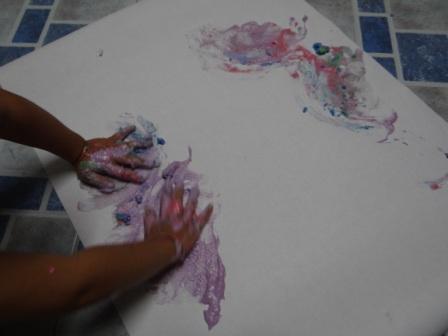Пальчиковые краски для малышей (1)