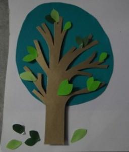 Объемная аппликация из бумаги - Аппликация для детей 5 лет (4)