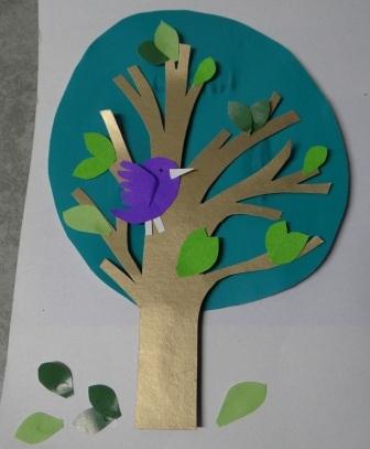 Объемная аппликация из бумаги - Аппликация для детей 5 лет (3)