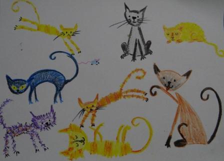 Как нарисовать карандашом кошку поэтапно (3)