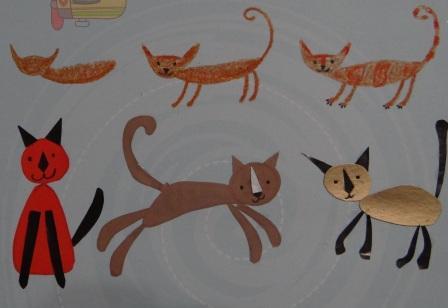 Как нарисовать карандашом кошку
